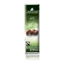 Baton z czekolady mlecznej słodzony stewią 44g