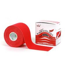 Taśma Nasara Kinesiology 5m x 5cm - czerwony