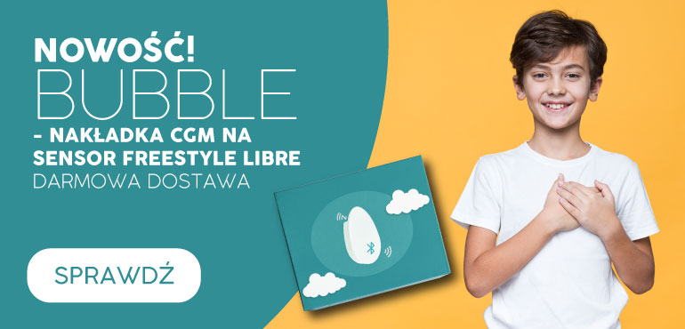 Bubble nakładka na sensor Freestyle Libre