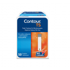Paski do glukozy Contour TS 50 sztuk