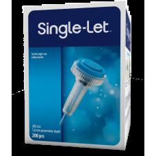 Single-Let® nakłuwacze jednorazowe 28Gx1,6mm 200 sztuk