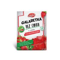 CELIKO Galaretka truskawkowa bez cukru 14g