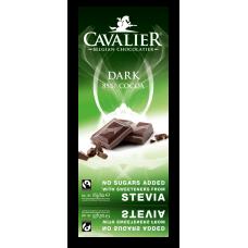 Czekolada ciemna 85% Cavalier, bez cukru, 85g