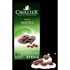 Czekolada z nadzieniem kawowym ze stewią, deserowa bez cukru, 85g