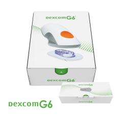 Pełnopłatny | Pakiet startowy Dexcom G6