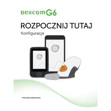 Podręcznik użytkownika CGM Dexcom G6