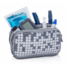 Srebrna torba izotermiczna Elite Bags