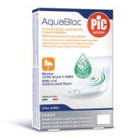 Plastry Aquabloc POST-OP 8x10cm (5 szt.) antybakteryjne