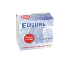 Paski do glukozy Eusure 50 sztuk