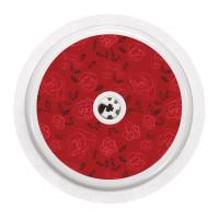 Naklejka na sensor FreeStyle Libre - czerwone róże