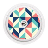 Naklejka na sensor FreeStyle Libre - kolorowa mozaika