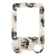 Naklejka z folią ochronną na czytnik FreeStyle Libre - czaszki