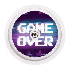 Naklejka na sensor FreeStyle Libre - game over NOWA KOLEKCJA