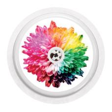 Naklejka na sensor FreeStyle Libre - gradientowy kwiat NOWA KOLEKCJA