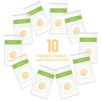 10 różnych losowych naklejek na sensor FreeStyle Libre