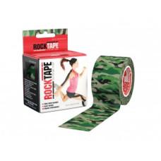 Taśma Kinezjologiczna RockTape 5m x 5cm Moro Zielona