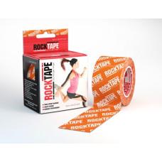 Taśma Kinezjologiczna RockTape 5m x 5cm Pomarańczowa logo