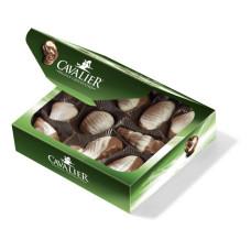 Praliny owoce morza z belgijskiej mlecznej czekolady słodzone stewią, bez cukru, 125g