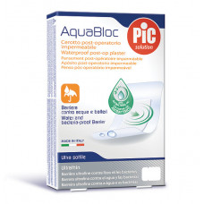 Plastry Aquabloc POST-OP 10x10cm (5 szt.) antybakteryjne
