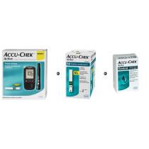 Zestaw Glukometr Accu-Chek Active + Paski Accu-Chek Active 50 sztuk + Płyn kontrolny