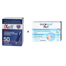 Zestaw Paski do glukozy iXell - 50 szt. + lancety iXell 100 sztuk
