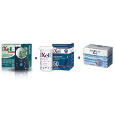 Zestaw Glukometr z głosowym odczytem iXell®Audio + Paski testowe iXell 50 sztuk + lancety iXell 100 sztuk