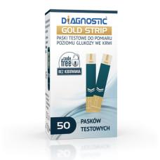 Paski do glukozy Diagnostic GOLD 50 sztuk