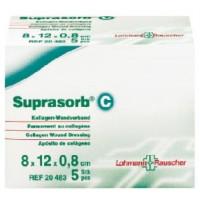 Suprasorb C - 6 cm x 8 cm x 0,8 cm - 1 sztuka - opatrunek kolagenowy