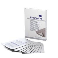 Atrauman AG ze srebrem 5x5 cm op. 10 sztuk