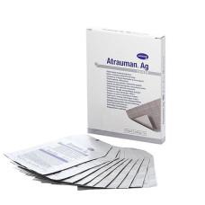 Atrauman AG ze srebrem 5x5 cm - 1 sztuka