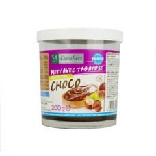 Krem czekoladowo-orzechowy słodzony tagatozą bez glutenu 200g