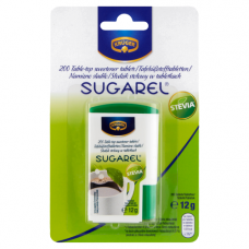 Stewia w tabletkach Sugarel 200 tabl. Kruger