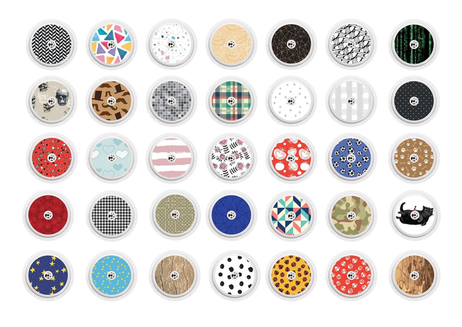 Freestyle Libre Sticker Gray Dots Diabetyk24
